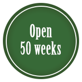 open 50 weeks