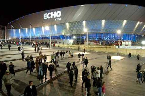 Echo Arena Kings Dock Liverpool